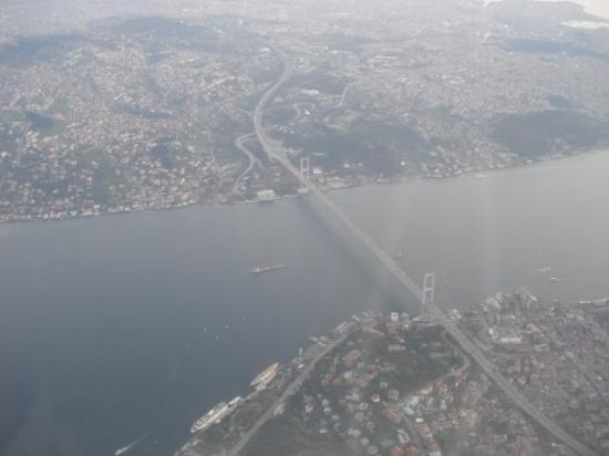 Kayseri, Tyrkiet: Estambul desde el avión