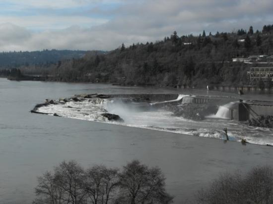Oregon City, OR: Willamette Falls.