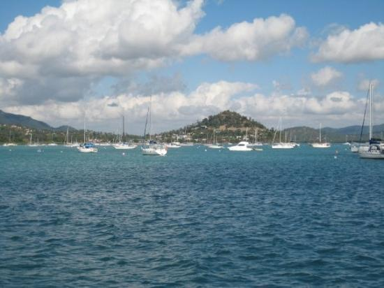 Sailing out of Airlie Beach