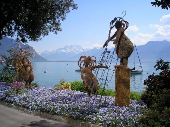 Montreux, Sveits: Montreaux