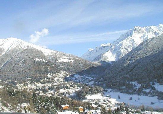 Hotel Sorriso : paesaggio invernale