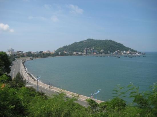 Vung Tau, Vietnã: Từ trên Bạch Dinh aussi..