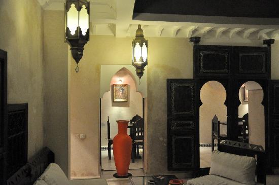 Riad Alamir: Rez de chaussée