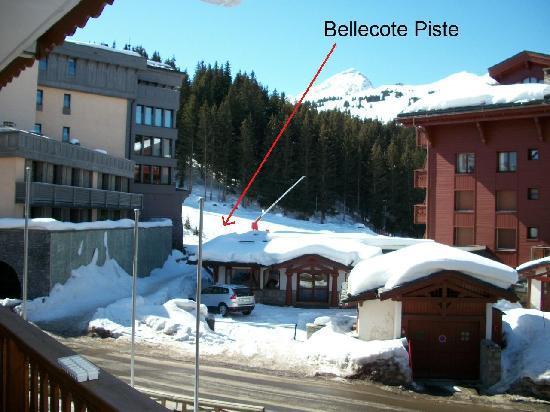 Bellecote piste courchevel 1850 webcam