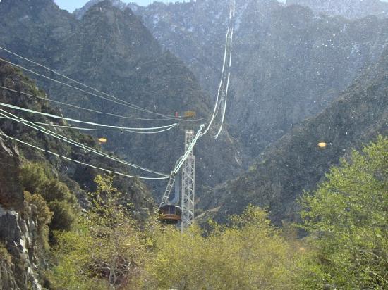 Palm Springs Aerial Tramway: ゴンドラ