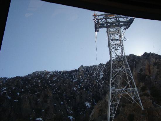 Palm Springs Aerial Tramway: 中からの眺め