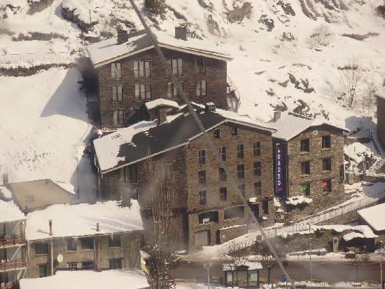 Hotel Montane: vista desde telecabina