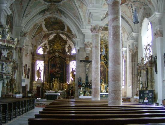 Rattenberg, Austria: In church