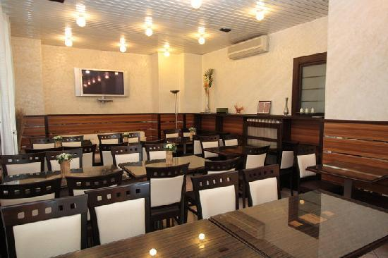 Hotel Nicea : Salon Petit dejeuner