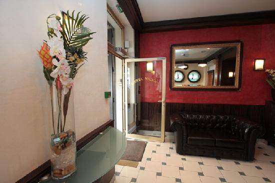 Hotel Nicea : Entrée NICEA 2010