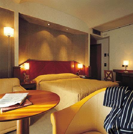 Perugia Park Hotel: Cemra matrimoniale con comodo angolo salotto