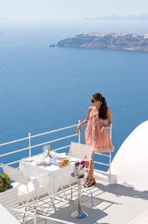 Grace Santorini Hotel: Room view