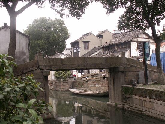 Suzhou, China: vista dei canali