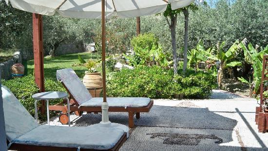 Villa Galini Lindos: Villa Galini - Garden