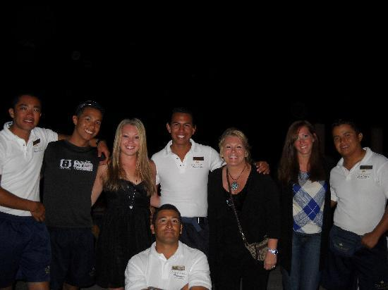 Dreams Villamagna Nuevo Vallarta: Group photo with Entertainment Team