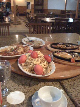 Bintan Agro Beach Resort: Our Dinner
