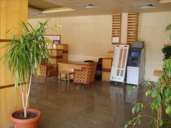 Aqua Blu Sharm: money exchange and ATM