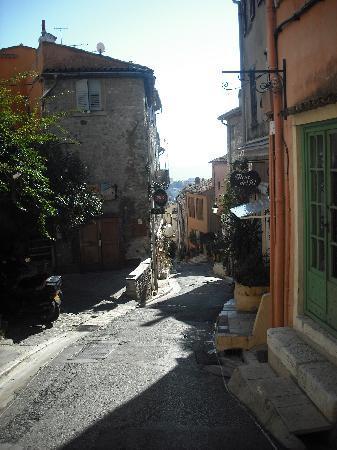 Cagnes-sur-Mer, فرنسا: petite rue