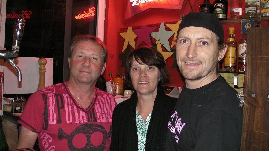 julie,alan and michael at the casbah.