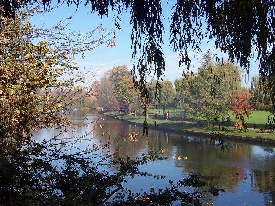 Stratford-upon-Avon, UK: Bancroft garen