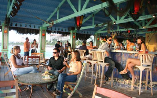 Bugaloe Beach Bar & Grill, the hottest place to be cool and the coolest place to be hot