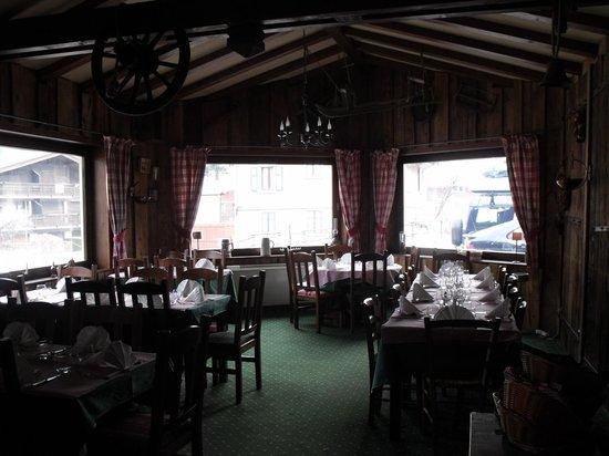 Hotel du Bois: restaurant