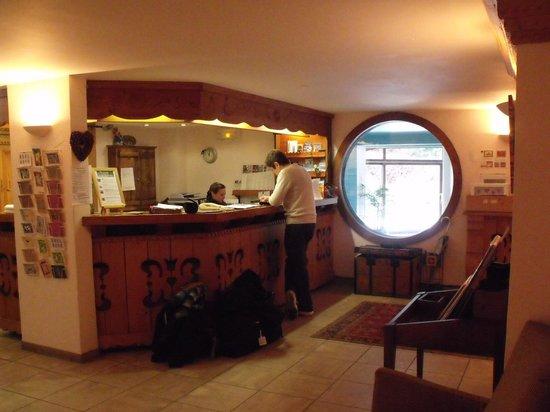 Hotel du Bois: accueil