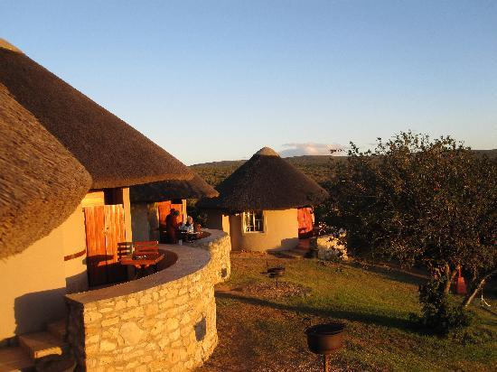 Addo Rest Camp: The rondawels