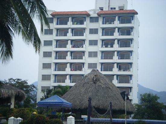 GHL Comfort Hotel Costa Azul: vista del hotel desde la playa