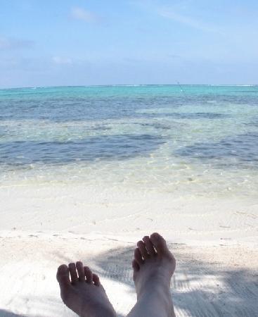 Sin Duda Villas: View from my Palapa on Sin Duda's beach