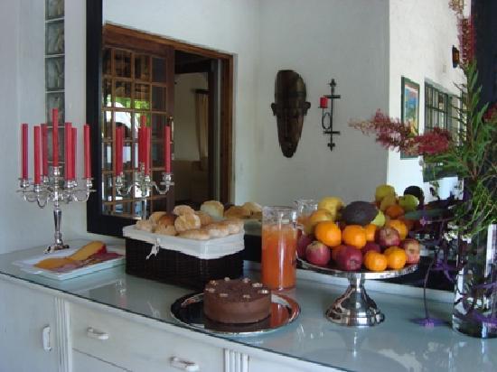 Villa Schreiner: Outside Breakfast Area