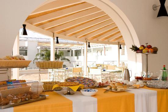 Ganimede Hotel: buffet