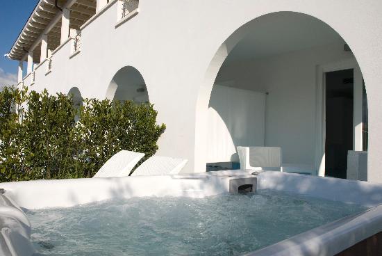 Ganimede Hotel: vasca idromassaggio