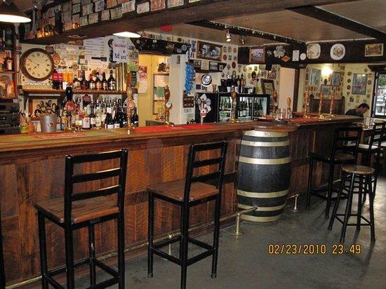 Cork & Keg Interior