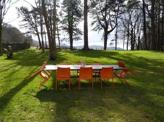 Ffin y Parc Gallery: garden/view
