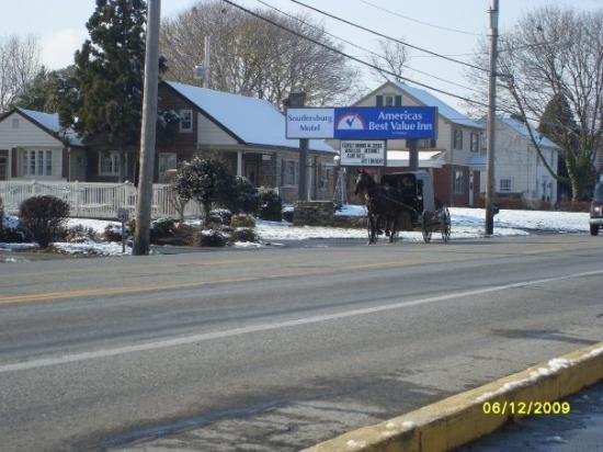 Lancaster, PA: Horse and buggy in Dutch Country