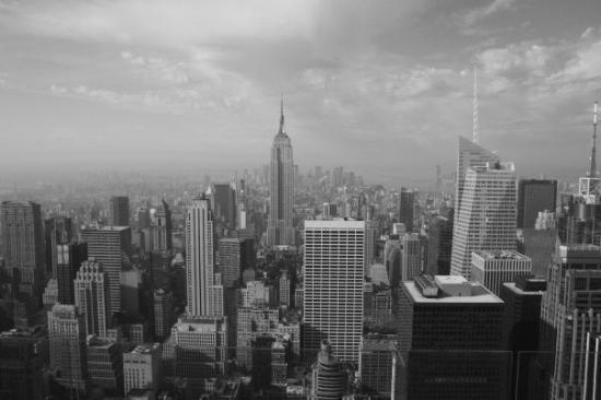 'Top of the rock' utsiktspost, Rockefeller New York: New York, État de New York, États-Unis