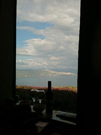 Peace Vista Country Lodge (Mitzpe Hashalom): the view overlooking Tiberias