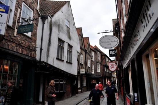 The Shambles - voted #1 the most historical street in the UK