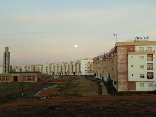 Rabat, Marokko: c à sala aljadida! le reste c à vous de deviner kel astre?kel sattelite? é ce matin?soir?