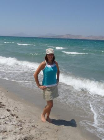 The most beautiful beach in the island Kos - Tigaki;)))