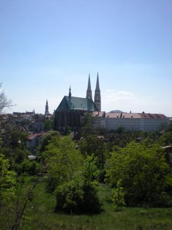 Gorlitz, Tyskland: My town, view from Poland to German