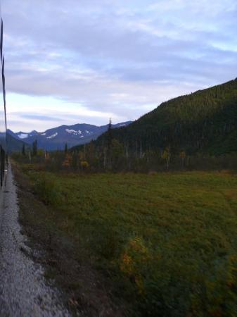 Seward, AK: photos from the train to Anchorage