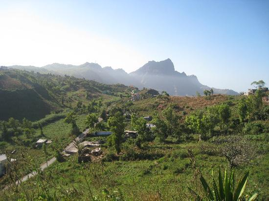 Santiago, Cape Verde: area