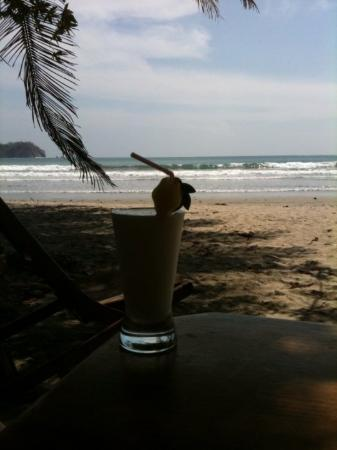 Playa Samara, Costa Rica: Drinks are better with decorations