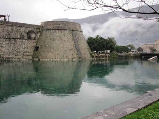 Kotor, Montenegro: City wall during the day.
