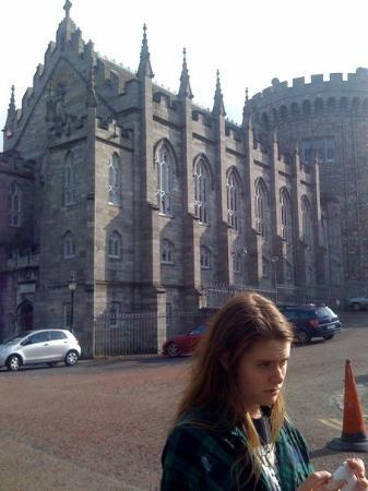 Dublin Castle.  It didn't seem right having all the cars parked around!!!