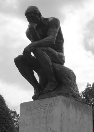 Musee Rodin: The Thinker, Paris