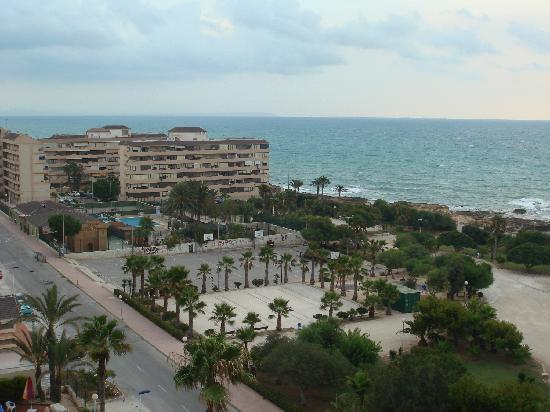 Hotel Playas de Torrevieja: View from the balcony