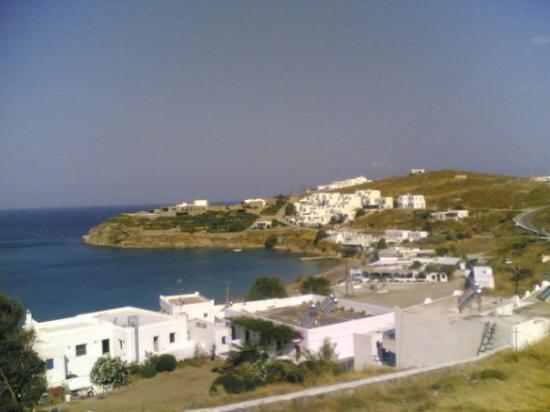 mykonos view: agios stefanos